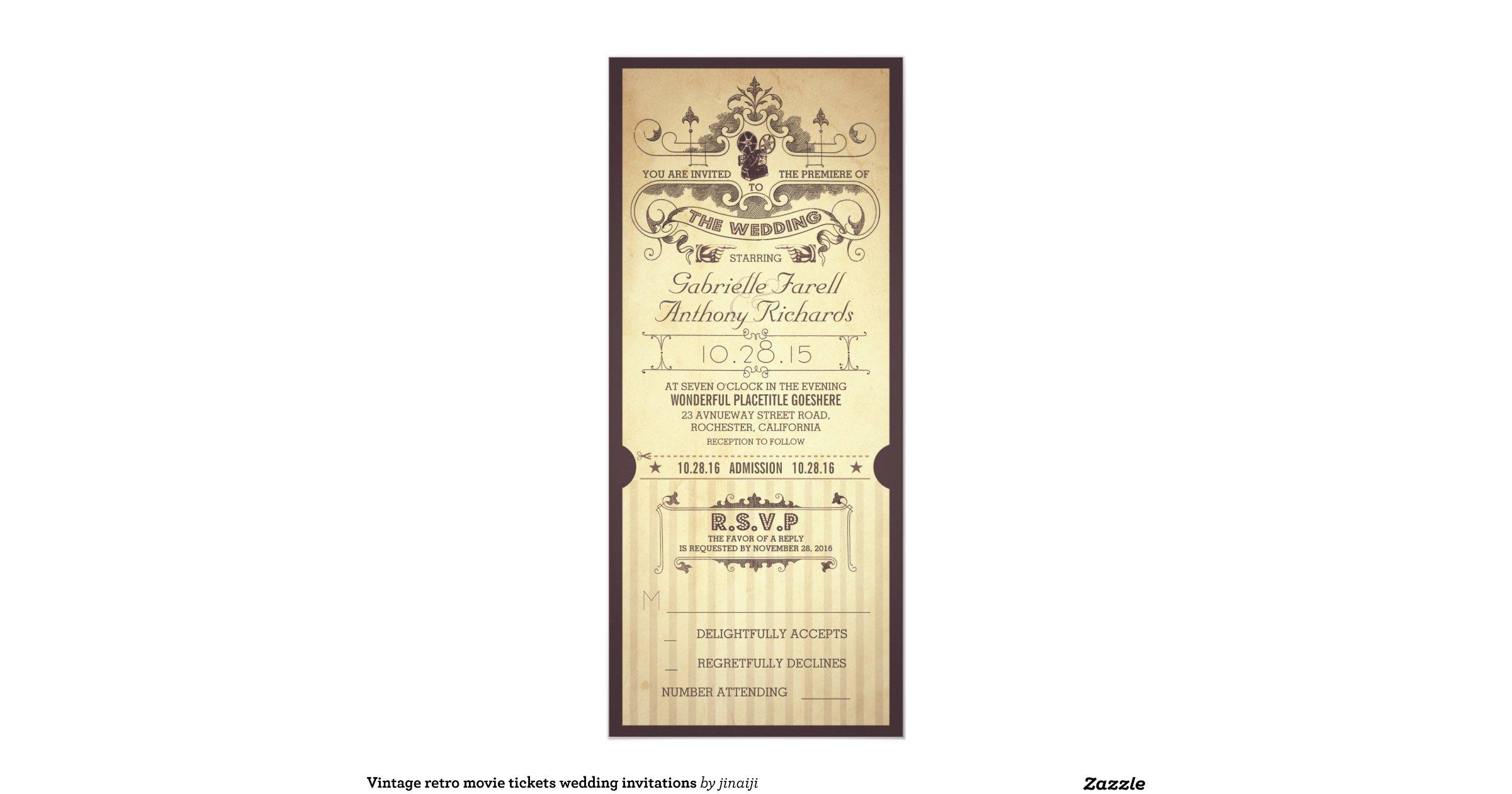 Vintage Retro Movie Tickets Wedding Invitations R6b1b4b84b28b4e4dbe68351eab92a9cf Zk9gb 1200