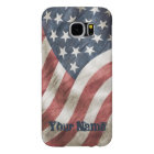Vintage Retro Old Glory US Flag Personalized Samsung Galaxy S6 Case