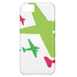 Vintage Retro Planes In Formation iPhone 5C Cover