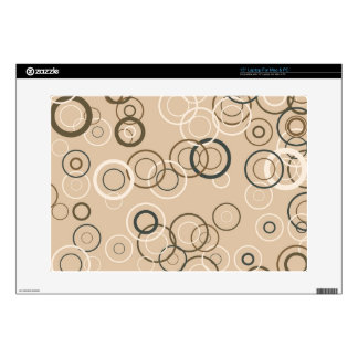 Vintage Retro Pop Squares Abstract Art Decals For Laptops