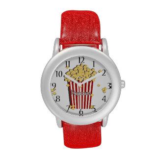 Vintage Retro Popcorn Wrist Watch