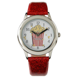 Vintage Retro Popcorn Wristwatch
