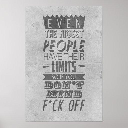 vintage retro quote poster