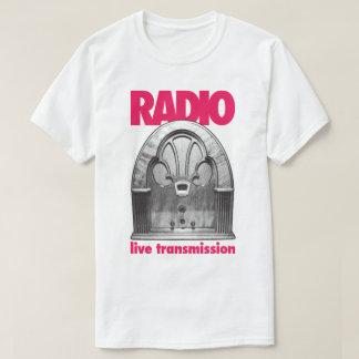 Vintage Retro Radio Live Test Transmission T-Shirt