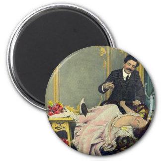 Vintage Retro Romance Marriage Seduction Magnet