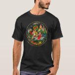 Vintage Retro Russian Fairy Tale Fantasy Colorful T-Shirt