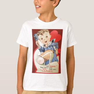 Vintage Retro Sailor Valentine Card T-Shirt