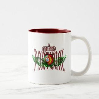 Vintage Retro Selecção das Quinas Presentes Two-Tone Coffee Mug