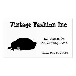 Vintage retro simple de las ilustraciones de la tarjetas de visita