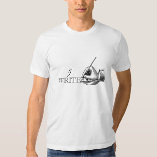 Vintage Retro Simple Gift For Writers Tshirt