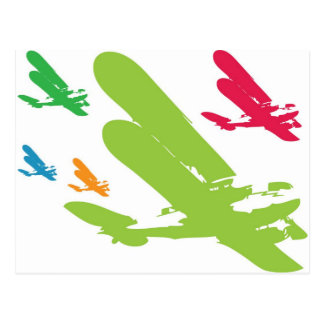 Vintage Retro Stratoliner Seaplane Airplane Plane Postcard