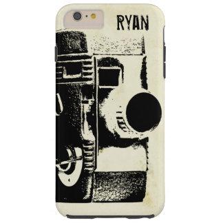 Vintage Retro Style Film Movie Camera Tough iPhone 6 Plus Case