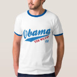 """Vintage Retro Style Obama """"Yes We Can"""" T-Shirt"""