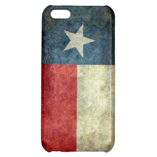 Vintage retro Texas state flag phone case Cover For iPhone 5C
