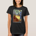 Vintage Retro Travel Poster New Mexico Arizona T-Shirt