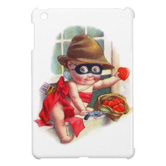 Vintage Retro Valentine Cupid the Little Thief iPad Mini Cases