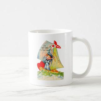 Vintage Retro Valentine I ve Set Sail For You Mug