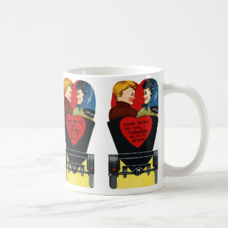 Vintage Retro Valentine's Day, Love and Romance Coffee Mug