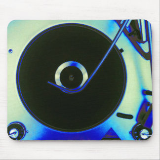 Vintage Retro Vinyl Record Player Mouse Pads