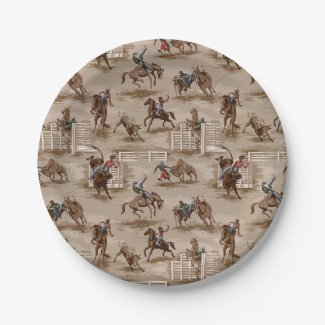 Cowboy / Western Paper Plates