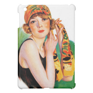 Vintage Retro Women 20s Deco Flapper Girl Pin Up Case For The iPad Mini