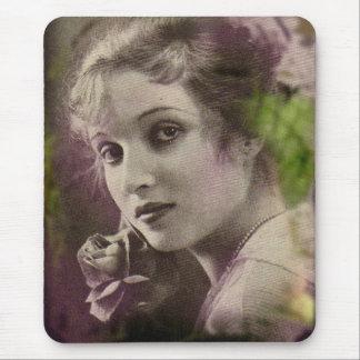 Vintage Retro Women 20s Hollywood Alice Joyce Mouse Pad