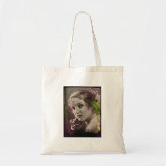Vintage Retro Women 20s Hollywood Alice Joyce Tote Bag