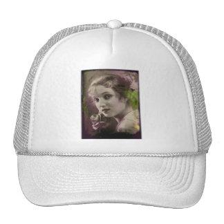 Vintage Retro Women 20s Hollywood Alice Joyce Trucker Hat