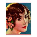 Vintage Retro Women 20s Hollywood Bessie Love Postcards