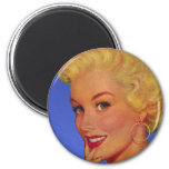 Vintage Retro Women 40s Housewife My House Magnet