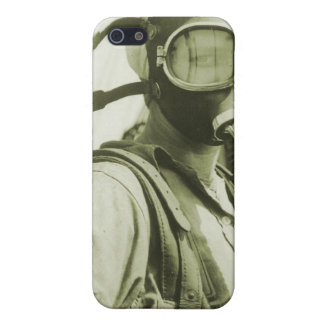 Vintage Retro Women 40s WW2 Military Gas Masks Case For iPhone SE/5/5s