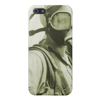 Vintage Retro Women 40s WW2 Military Gas Masks Cover For iPhone SE/5/5s