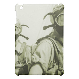 Vintage Retro Women 40s WW2 Military Gas Masks Cover For The iPad Mini