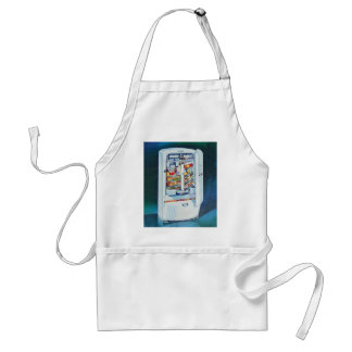Vintage Retro Women 50s Kitchen Refrigerator Adult Apron