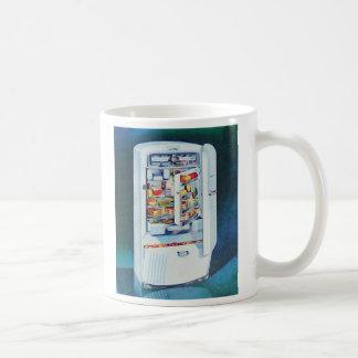 Vintage Retro Women 50s Kitchen Refrigerator Coffee Mug