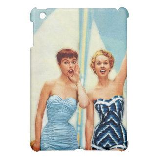 Vintage Retro Women 60s Swimwear Surfs Up! iPad Mini Case