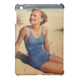 Vintage Retro Women Forties Swim Suit Beauty iPad Mini Cases