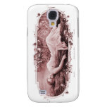 Vintage Retro Women French Victorian Woman Samsung Galaxy S4 Cases