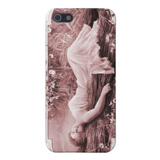 Vintage Retro Women French Victorian Woman Cover For iPhone SE/5/5s