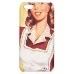 Vintage Retro Women Kitsch 50s Kitchen Magic iPhone 5C Case