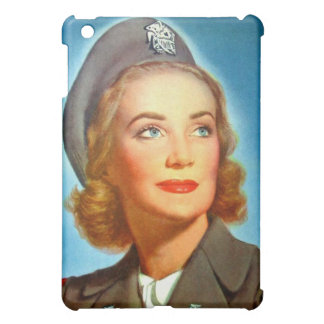 Vintage Retro Women Military U.S. Nurse Corp iPad Mini Cases