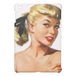 Vintage Retro Women Pin Up Bathing Beauty Portrait iPad Mini Covers
