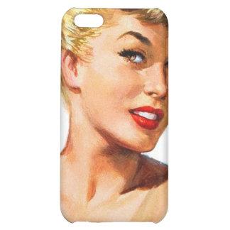 Vintage Retro Women Pin Up Bathing Beauty Portrait iPhone 5C Cases