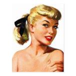 Vintage Retro Women Pin Up Bathing Beauty Portrait Post Cards