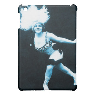 Vintage Retro Women Rollerskating Queen Case For The iPad Mini