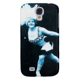 Vintage Retro Women Rollerskating Queen Samsung Galaxy S4 Case