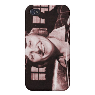 Vintage Retro Women Rosie the Riveter's Sister iPhone 4 Cover