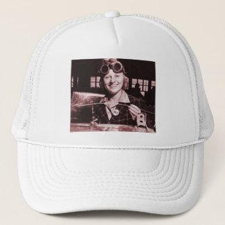 Vintage Retro Women Rosie the Riveter's Sister Trucker Hat