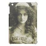 Vintage Retro Women Sepia Portrait 20s Woman iPad Mini Cover