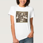 Vintage Retro Women Sideshow Snake Charmer T Shirt
